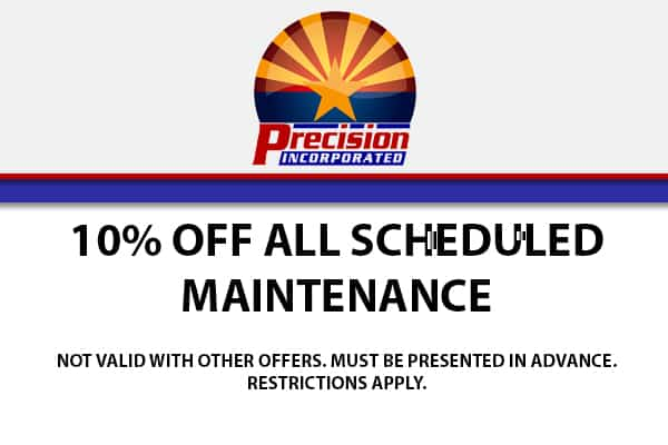 10% Off All Scheduled Maintenance!