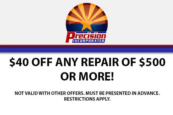 $40 Off Any Repair of $500 or More!