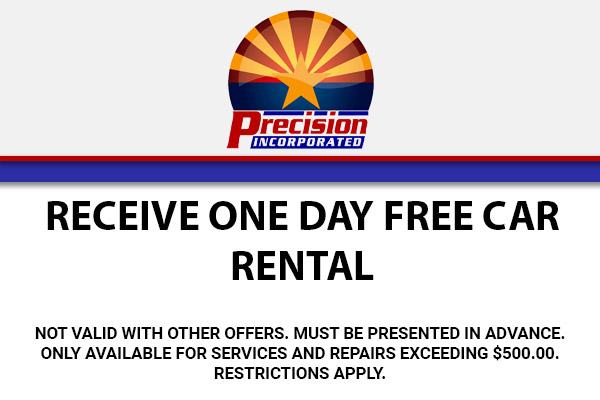 Receive One Day Free Car Rental